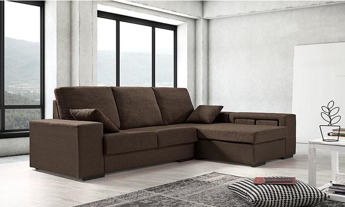 sofa estilo chaise longue