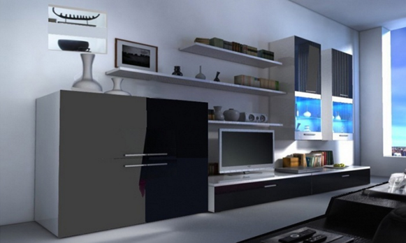 conjunto de muebles salon beta