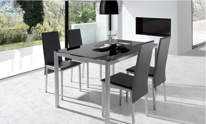 conjunto mesa salon y sillas