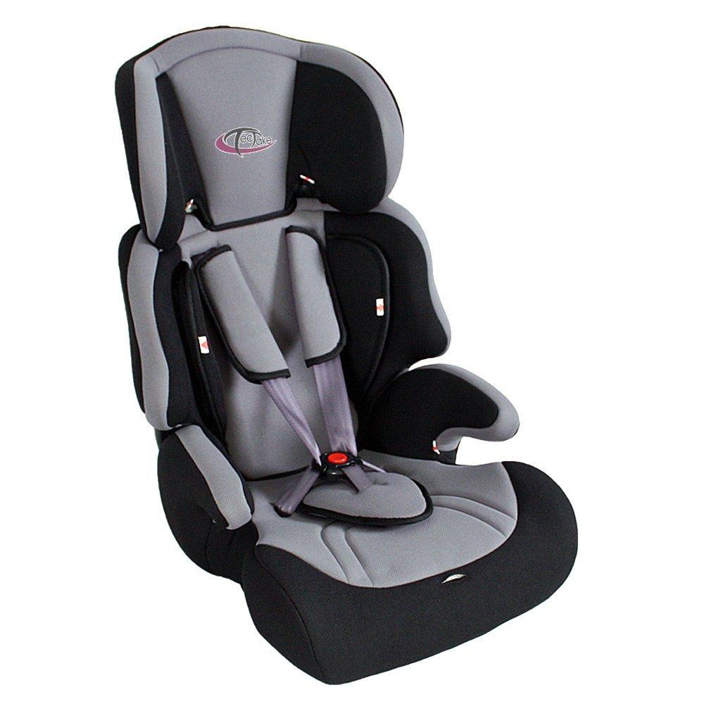 Silla de coche para ni os tectake grupos 1 2 3 regalo for Sillas infantiles coche